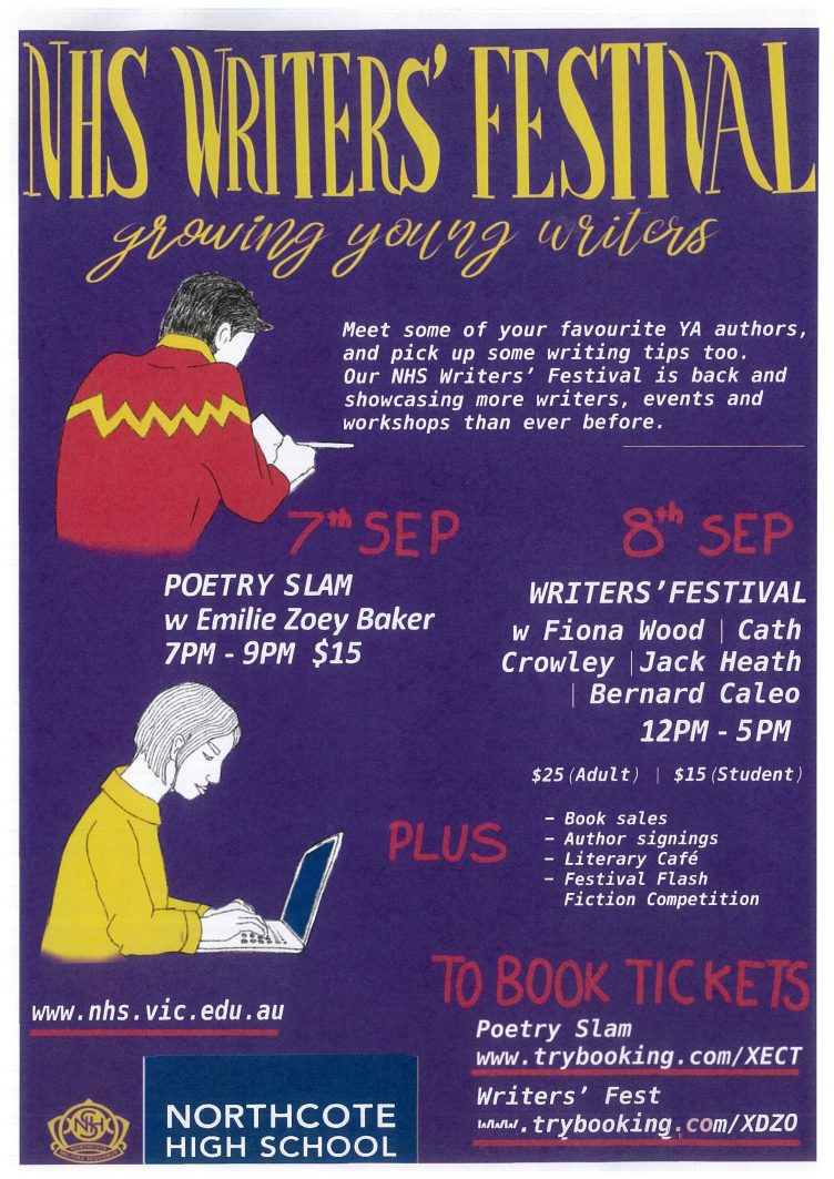 Northcote High School Writers' Festival : Growing Young Writers