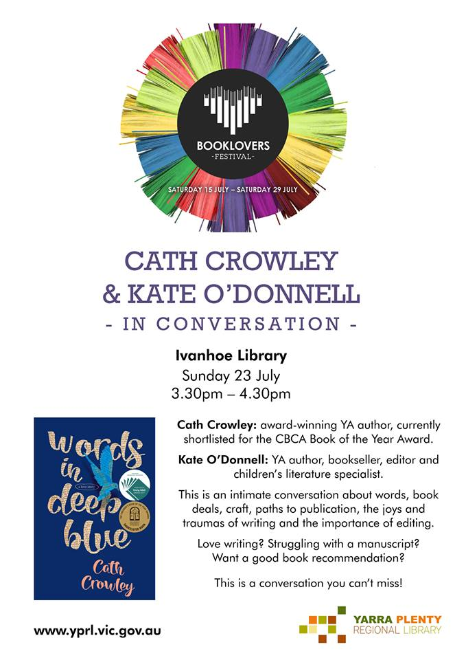 Cath Crowley & Kate O'Donnell in conversation