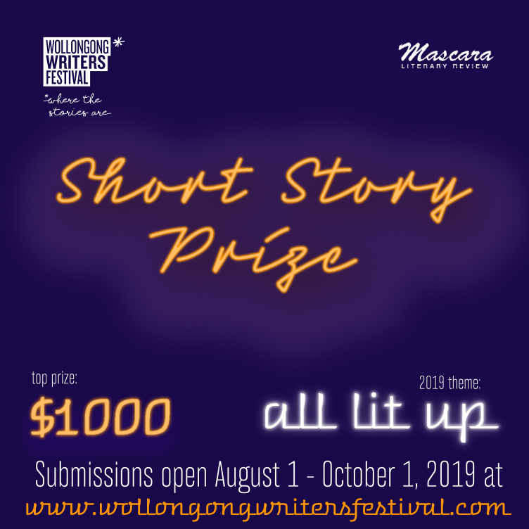Wollongong Writers Festival Short Story Prize 2019
