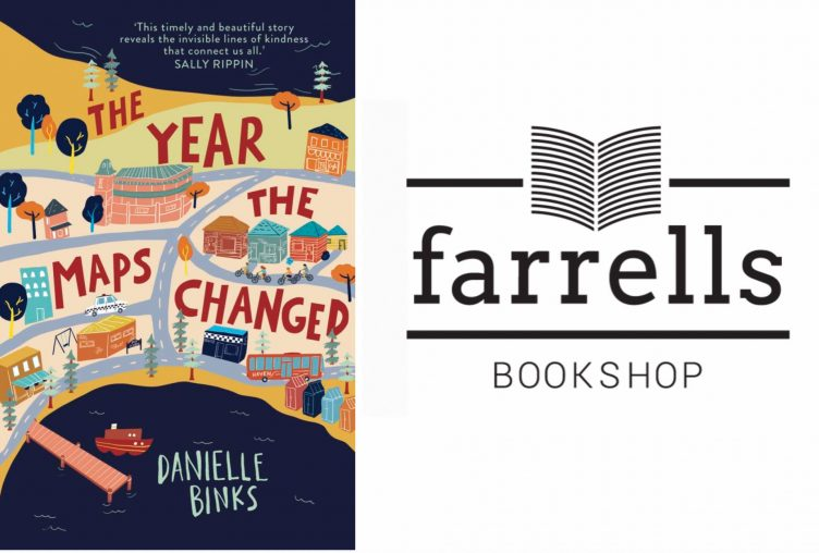 'The Year the Maps Changed' launch - Farrells in Mornington