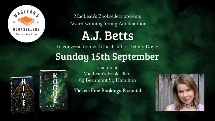 A.J. Betts in Conversation