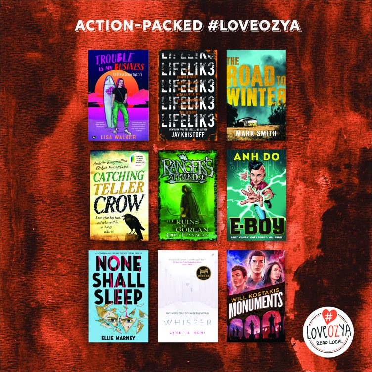 #LoveOzYA Action-packed Reads