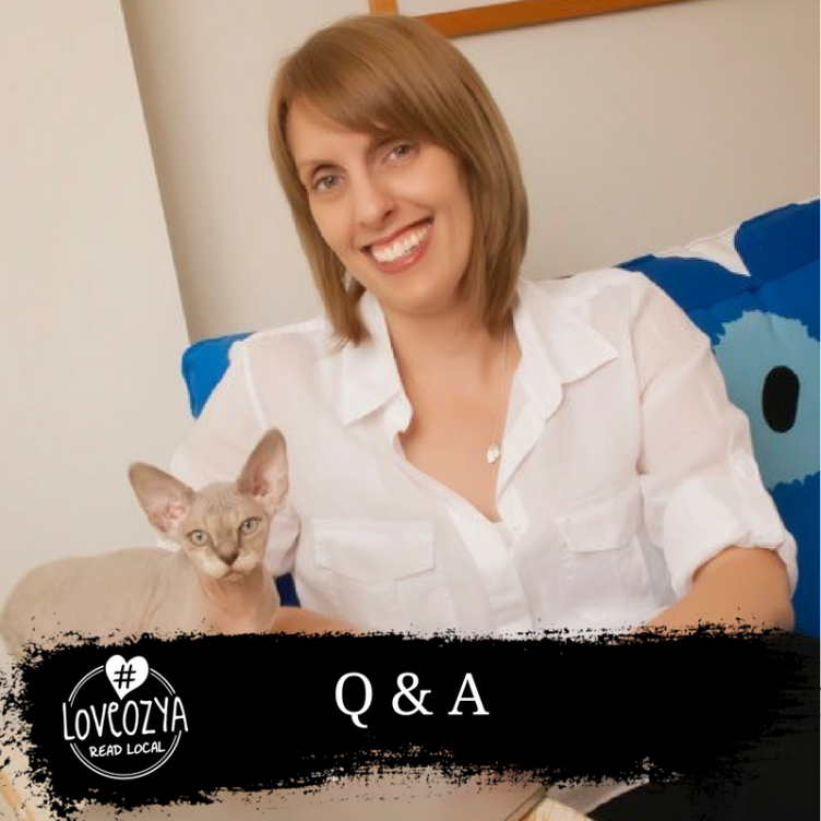 #LoveOzYA Q&A with Allison Rushby