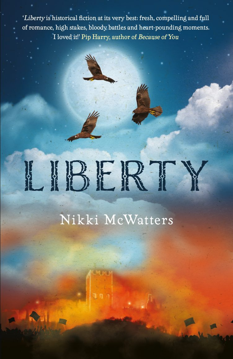 Liberty by Nikki McWatters to hit shelves on 29 October