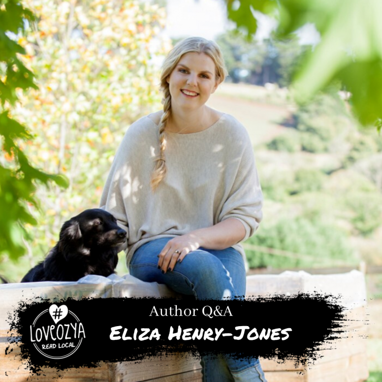 #LoveOzYA Author Q&A With Eliza Henry-Jones