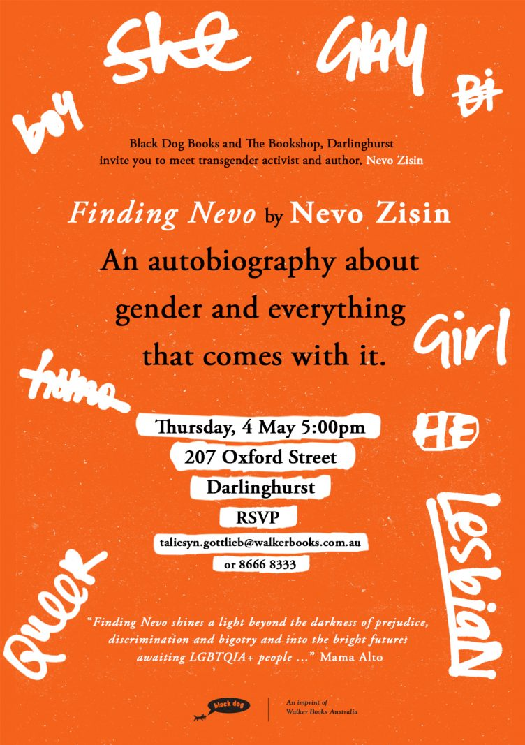 Meeting Nevo - Book Signing Event with Nevo Zisin