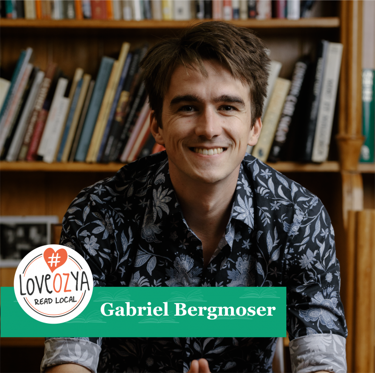 #LoveOzYA Q&A with Gabriel Bergmoser for THE TRUE COLOUR OF A LITTLE WHITE LIE