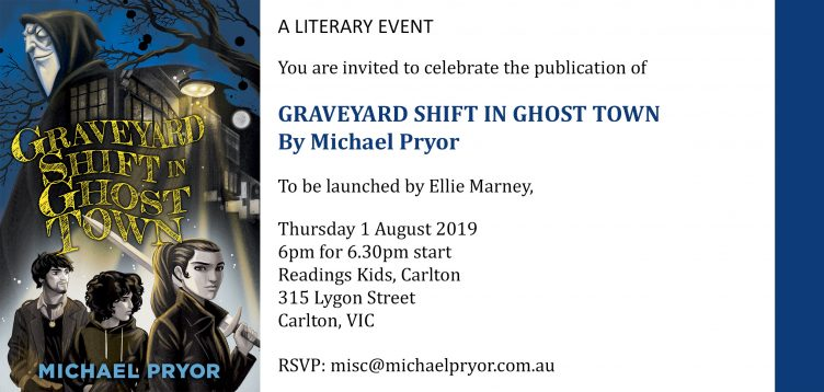 'Graveyard Shift in Ghost Town' Launch!