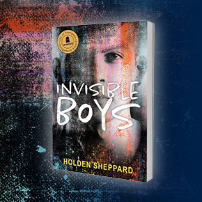 Holden Sheppard stays on a roll with a new film and television option for his award-winning novel Invisible Boys