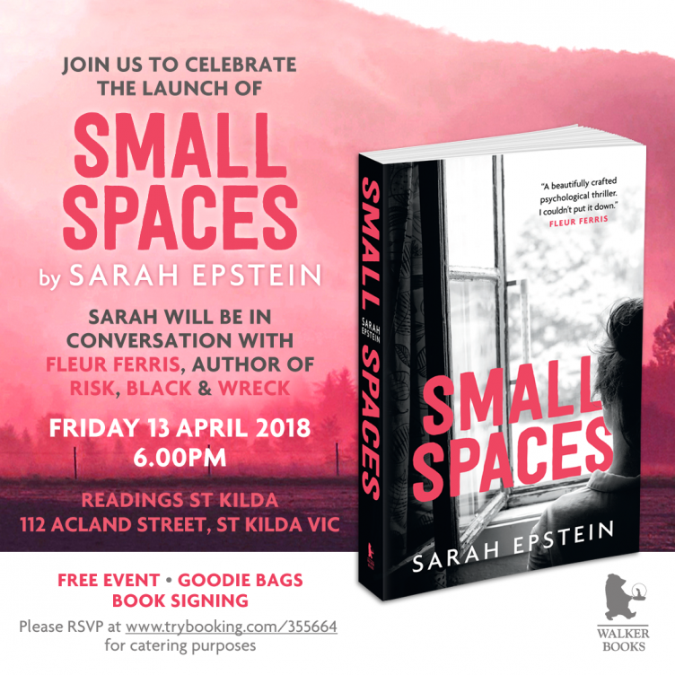 Small Spaces Book Launch