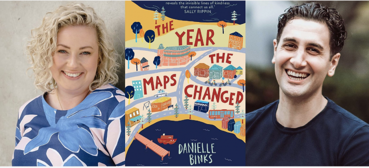 Danielle Binks in-conversation with Will Kostakis: THE YEAR THE MAPS CHANGED