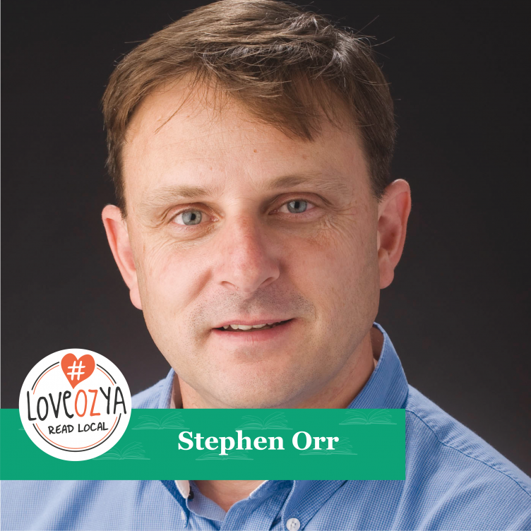 #LoveOzYA Q&A with Stephen Orr about THE LANTERNIST