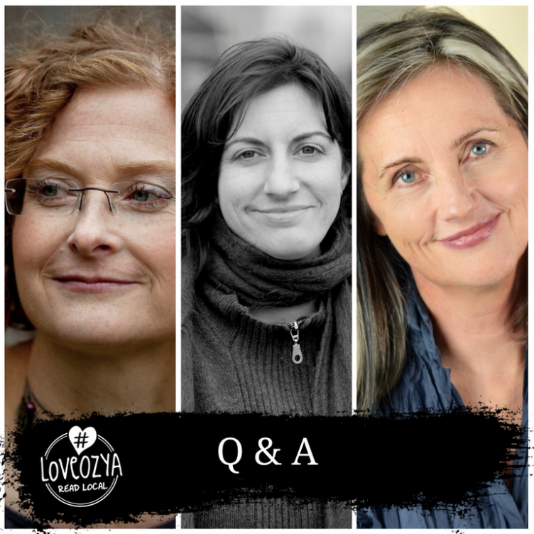#LoveOzYA Q&A with Cath Crowley, Fiona Wood and Simmone Howell