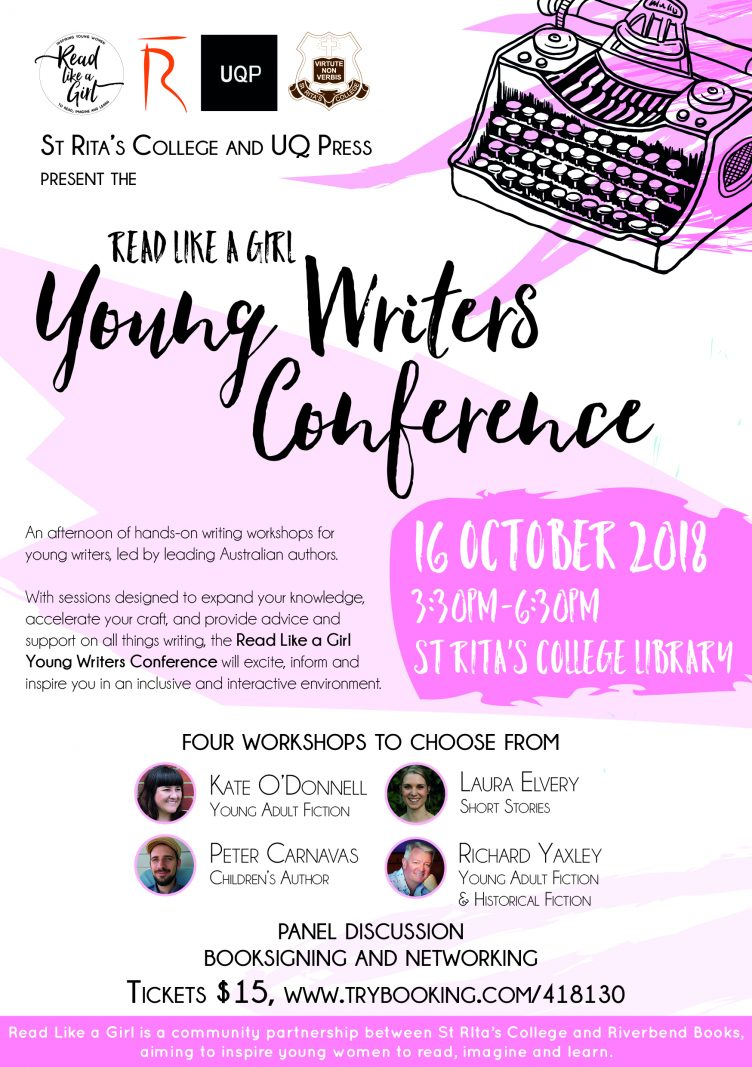 Read Like A Girl - Young Writers Conference
