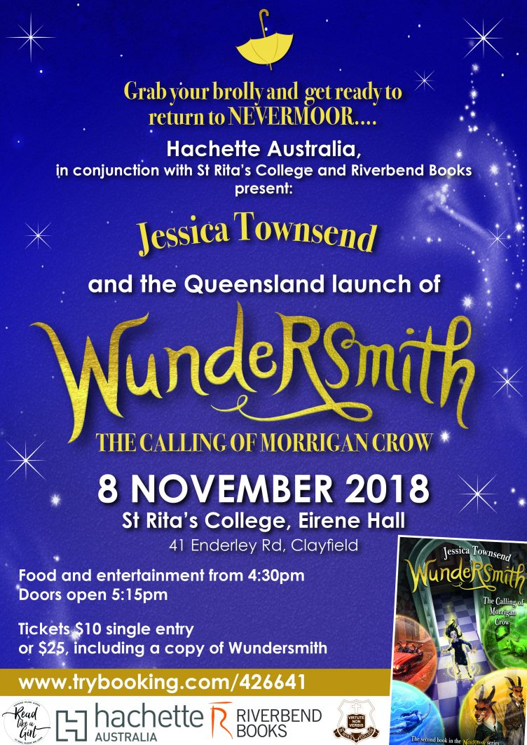 Read Like a Girl - Jessica Townsend Wundersmith Launch