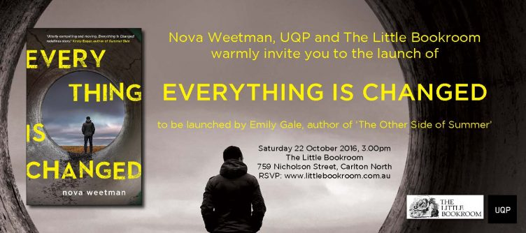 Launch of Everything Is Changed