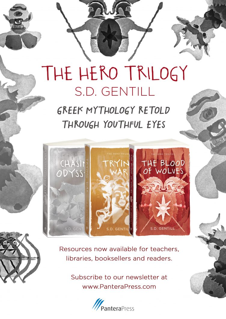 THE HERO TRILOGY (Chasing Odysseus, Trying War, The Blood of Wolves) by S.D. Gentill