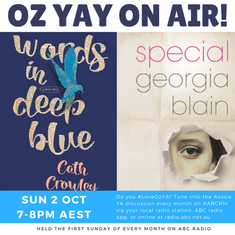 OzYAY on Air - Words in Deep Blue & Special