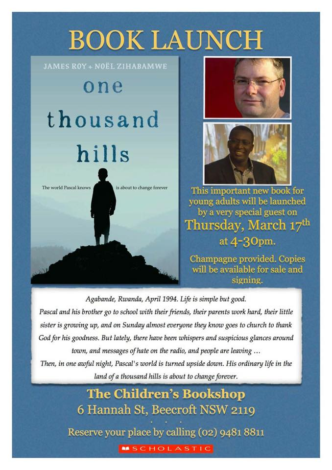 Launch of 'One Thousand Hills'