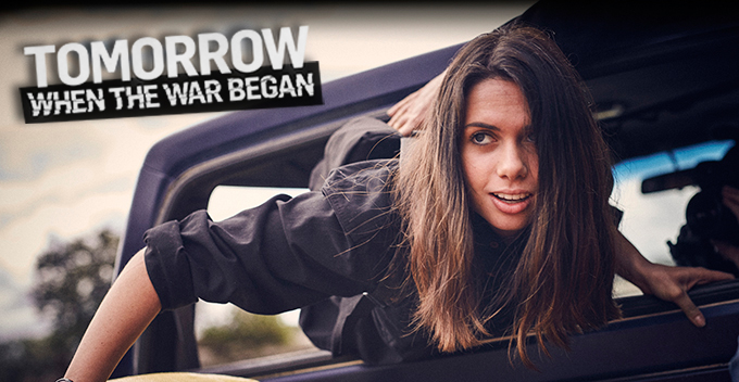 'Tomorrow When the War Began' TV series has started!