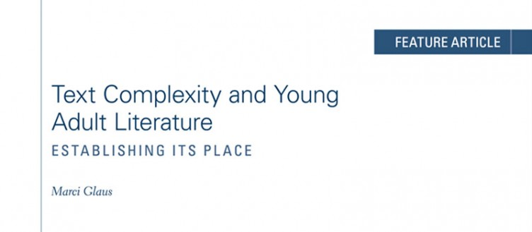Text Complexity and Young Adult Literature